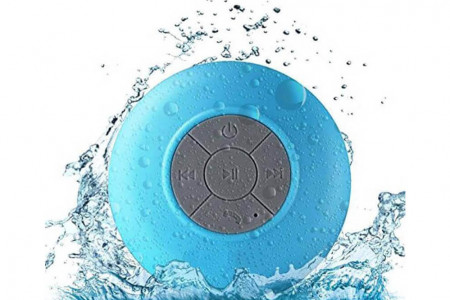 Waterproof Bluetooth Speaker – Blue
