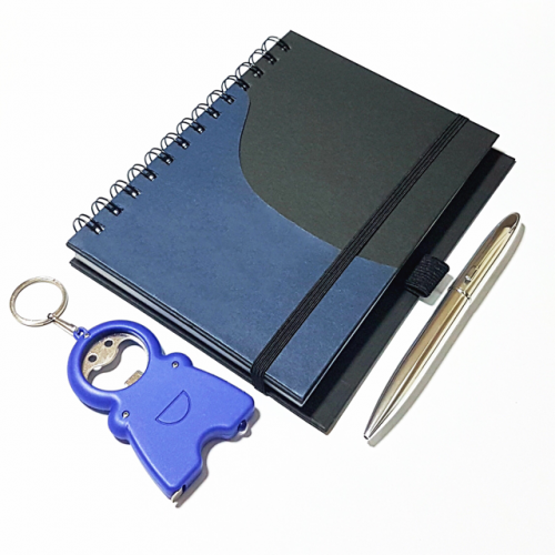 navy notebook cover
